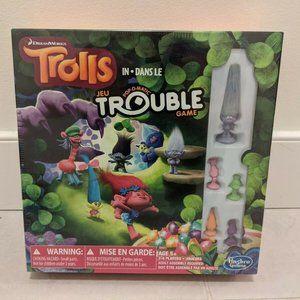Dreamworks Trolls Trouble Board Game